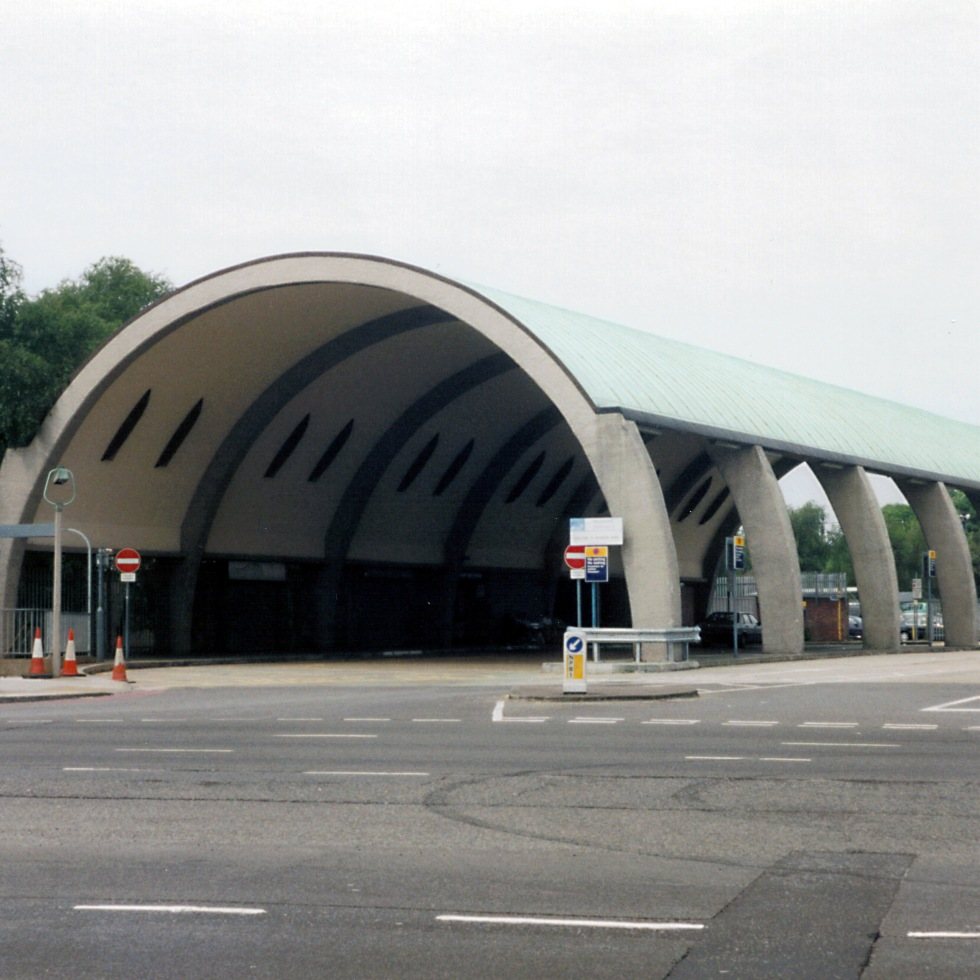 Newbury Park bus station, London