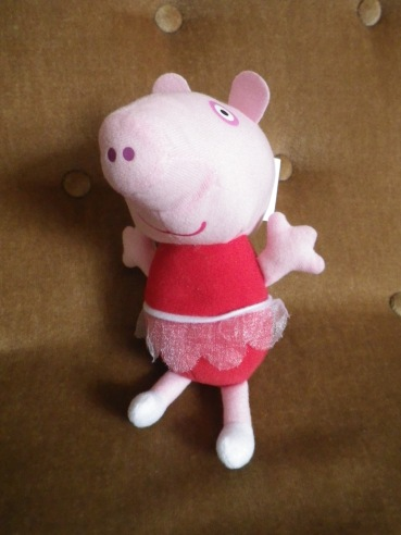 Peppa Pig. Likes: chocolate cake, jumping up and down in muddy puddles, and popularising public transport amongst the under-fives