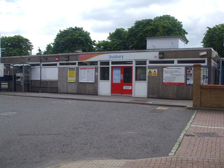Sunbury station.