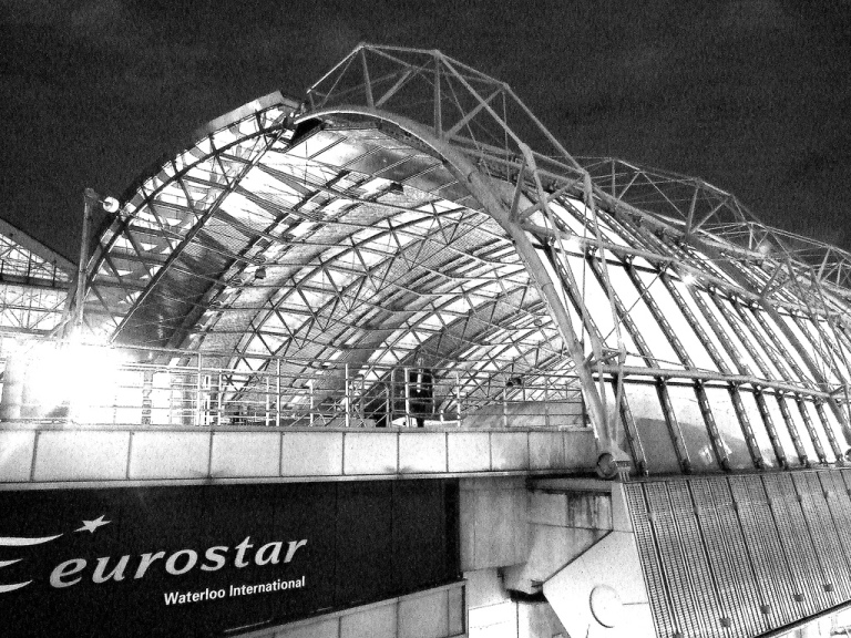 Waterloo International, 13 November 2007. By lewishamdreamer [CC BY-2.0] via this flickr page.