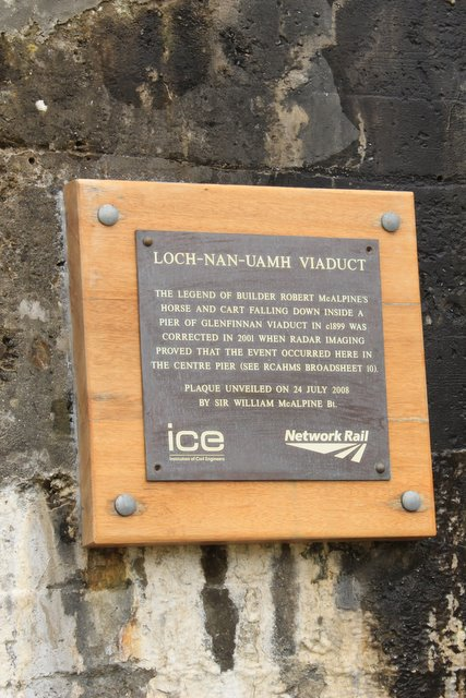 The plaque at Loch-nan-Uamh. © Copyright edward mcmaihin and licensed for reuse under this Creative Commons Licence