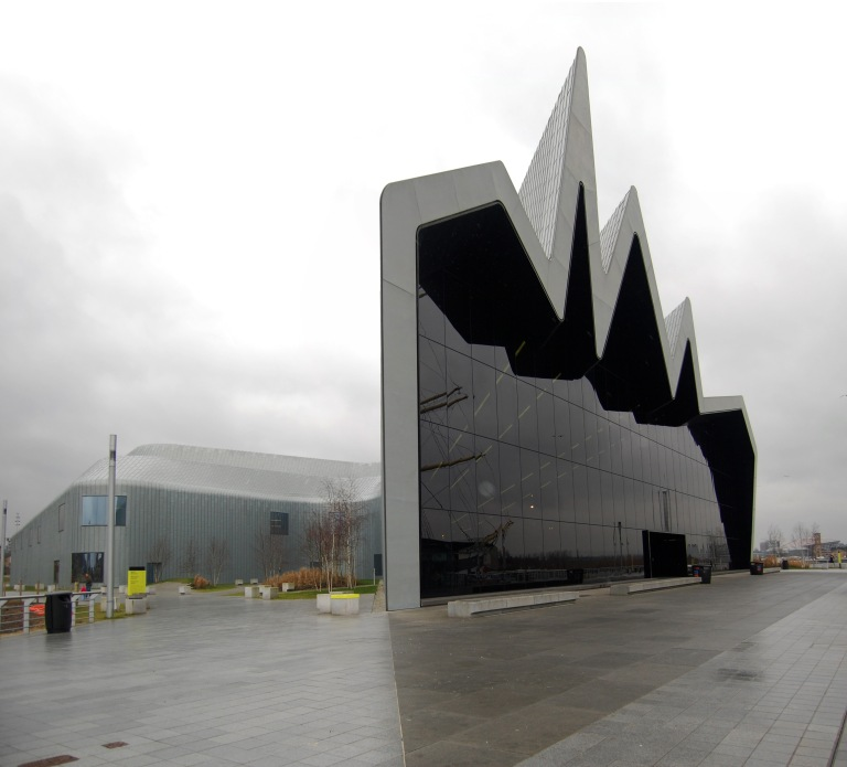 Riverside Museum of Transport, Glasgow. @copy Daniel Wright 2013
