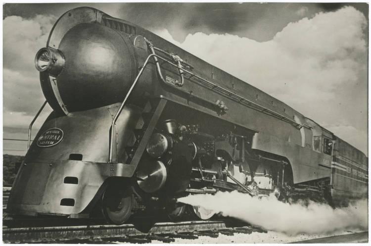 Streamline Dreams (Streamline Moderne on the railways ... Henry Dreyfuss Train