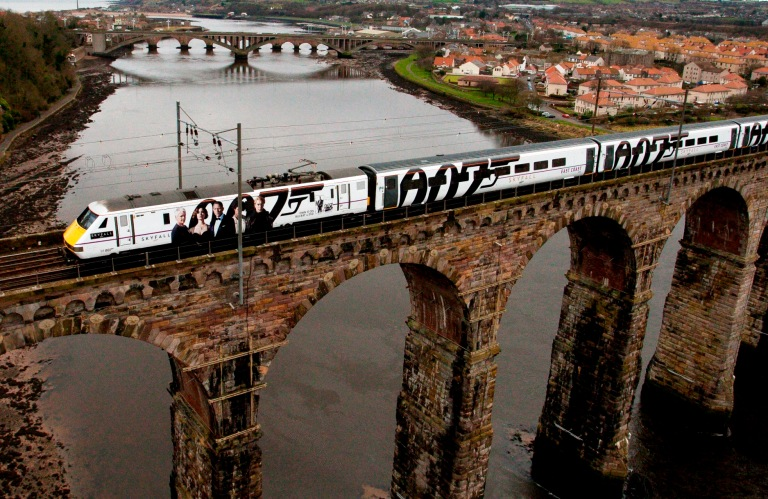 East Coast's Skyfall train, from the media download page, here