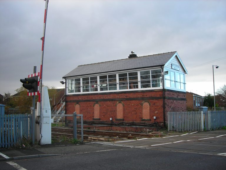 Bedlington North signal box. © Paul Wright