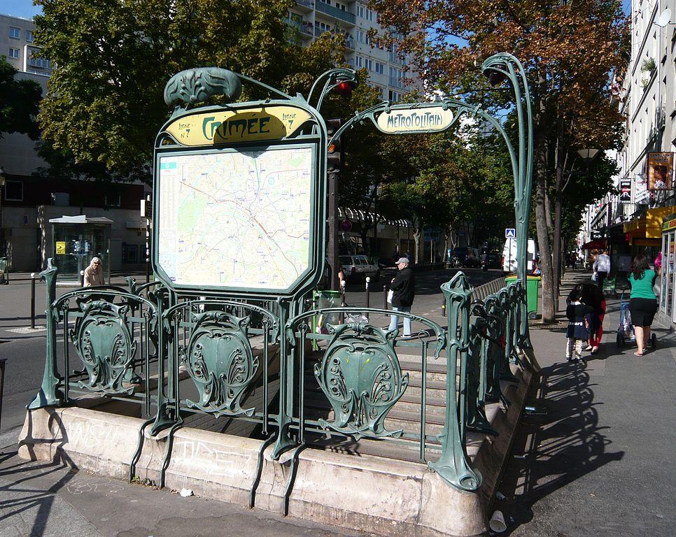 Iron Flowers (Guimard\'s Métro Entrances, Paris, France) – The Beauty ...