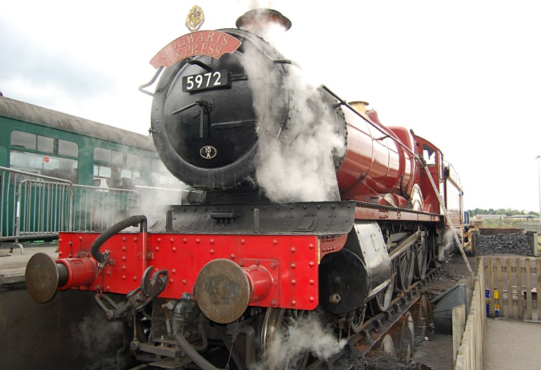 Hogwarts Express at the National Railway Museum in York, 13 May 2011. By Daniel Wright
