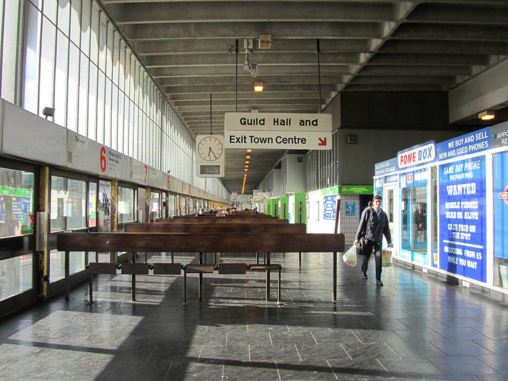 Preston Central Bus Station Car Park