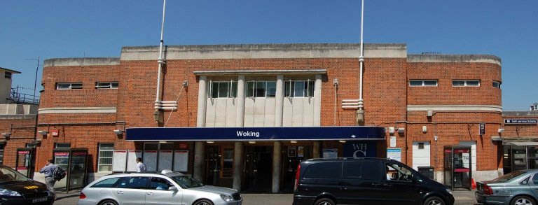 Woking station, Surrey. By Daniel Wright