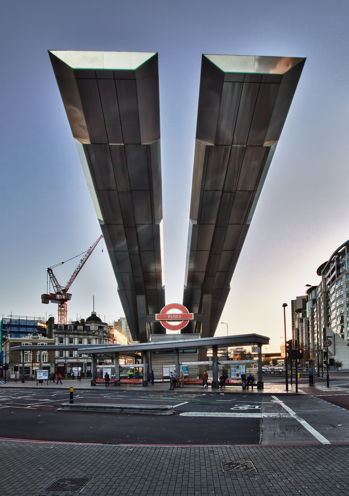 Vauxhall bus station in 2012. By A.Salisz [CC BY-NC 2.0] via this flickr page