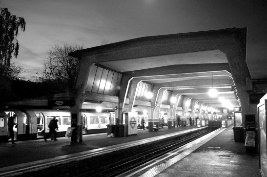 The trainshed at Cockfosters. By Daniel Wright [CC BY-NC-ND 2.0]
