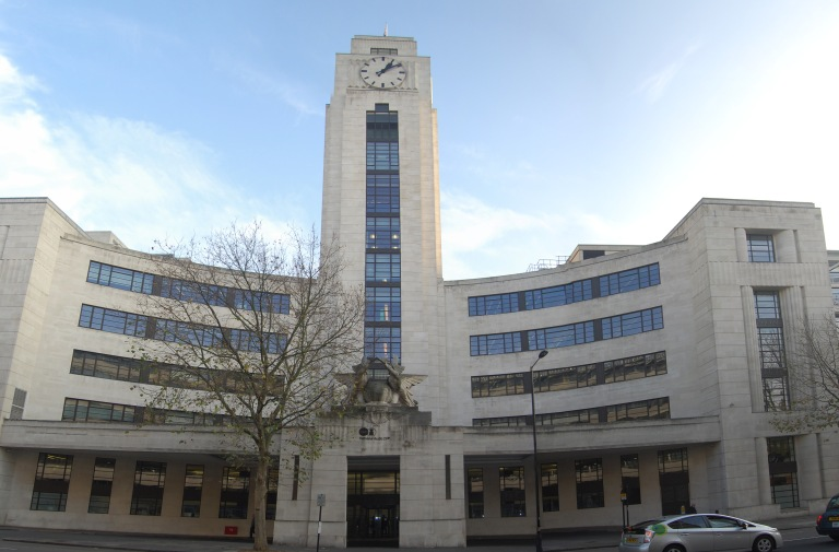 The National Audit Office building, previously the Empire Terminal, London. Panorama (it's a big building and hard to capture in a single shot from across the road). By Daniel Wright [CC BY-NC-ND 2.0] via this flickr page