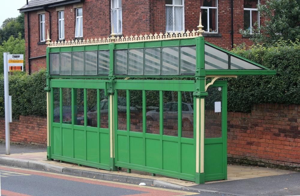 Iron Ladies Cast Iron Tram Bus Shelters Of The British