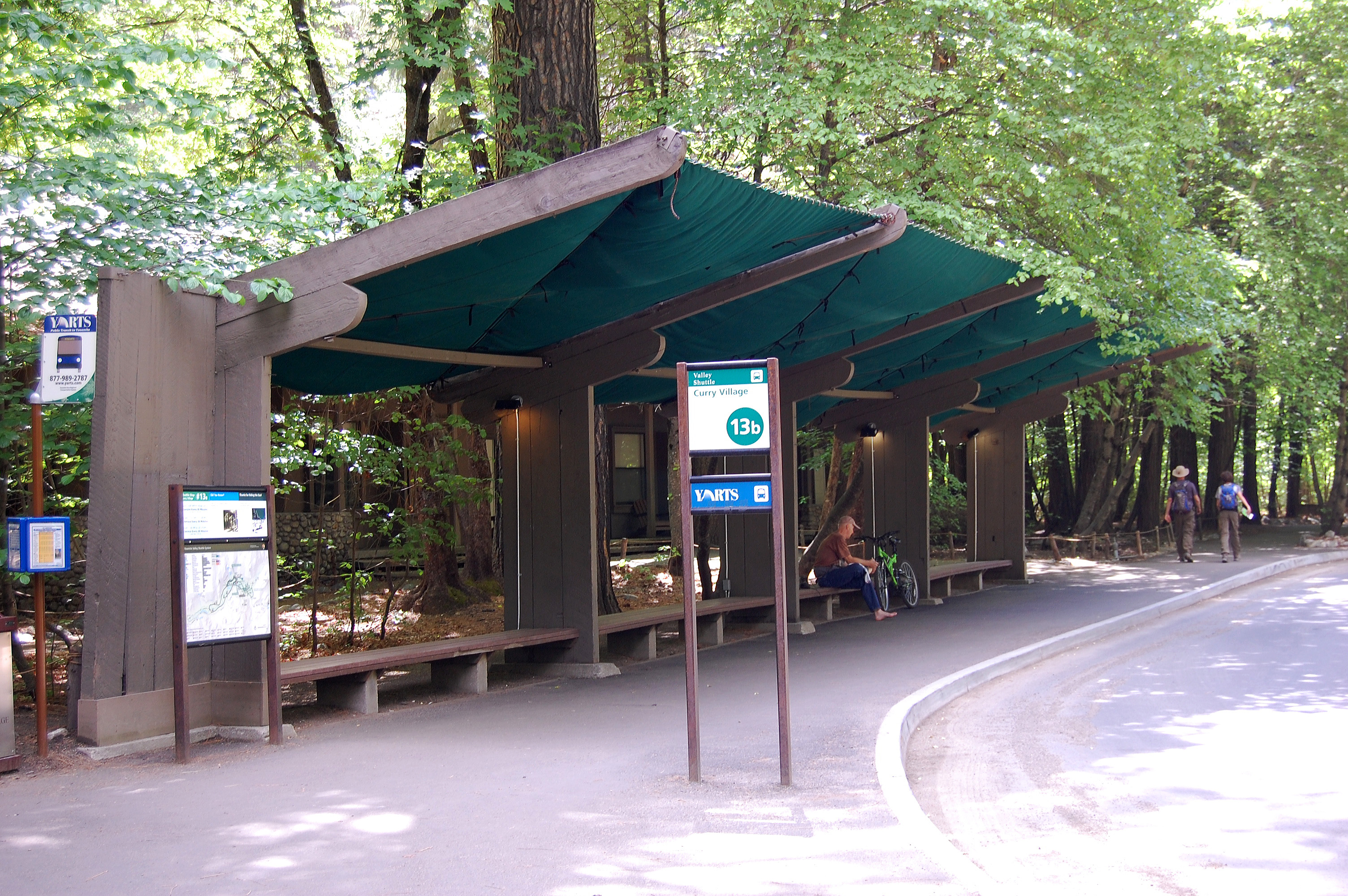 Bus Stop Shelters : Treasures in the park bus shelters yosemite national