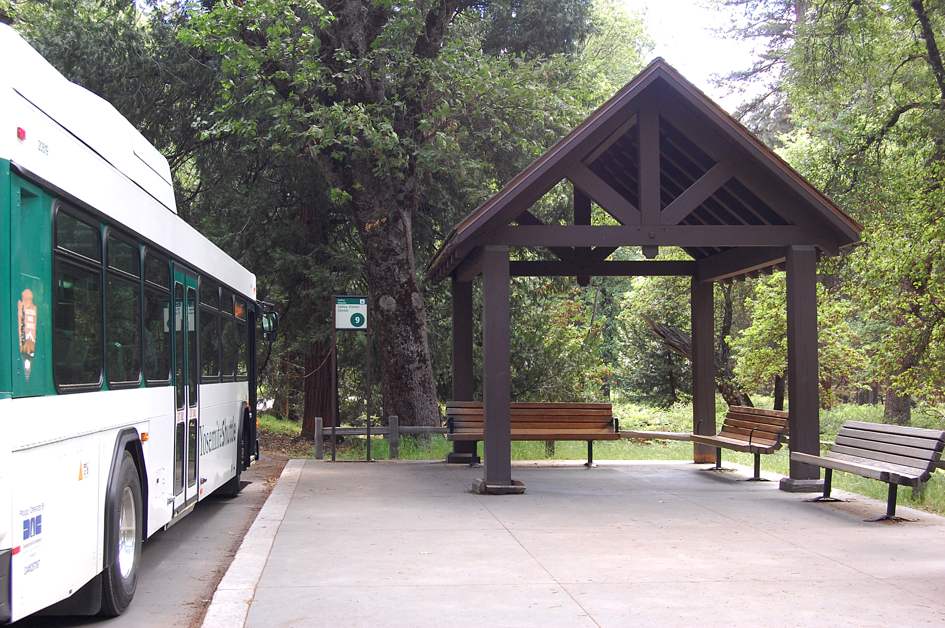Treasures In The Park Bus Shelters Yosemite National