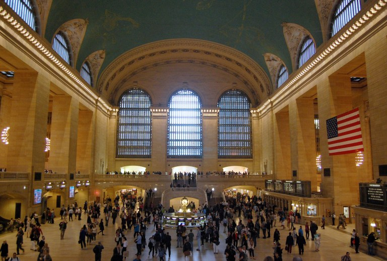 Grand Central Terminal, the express concourse. Photo by Daniel Wright [CC BY-NC-ND 2.0] via this flickr set