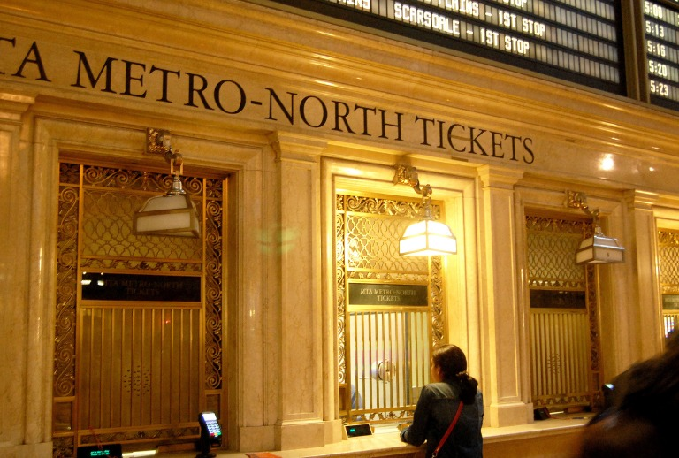 Ticket office windows at Grand Central Terminal. Photo by Daniel Wright [CC BY-NC-ND 2.0] via this flickr set