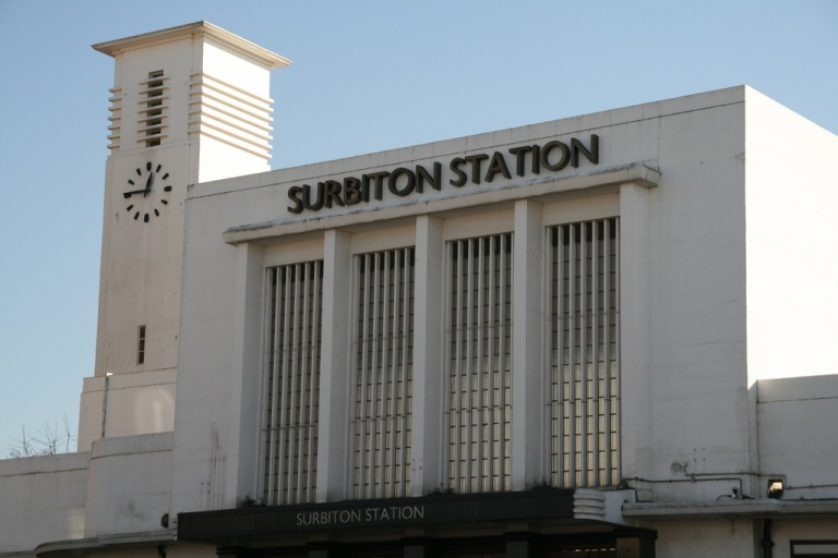 Surbiton station, north side. Photo by Surreykraut [CC BY 2.0] via this flickr page