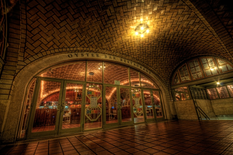 The Oyster Bar Restaurant at Grand Central Terminal. Photo by Skunkworks Photographic [CC BY-NC-ND 2.0] via this flickr page