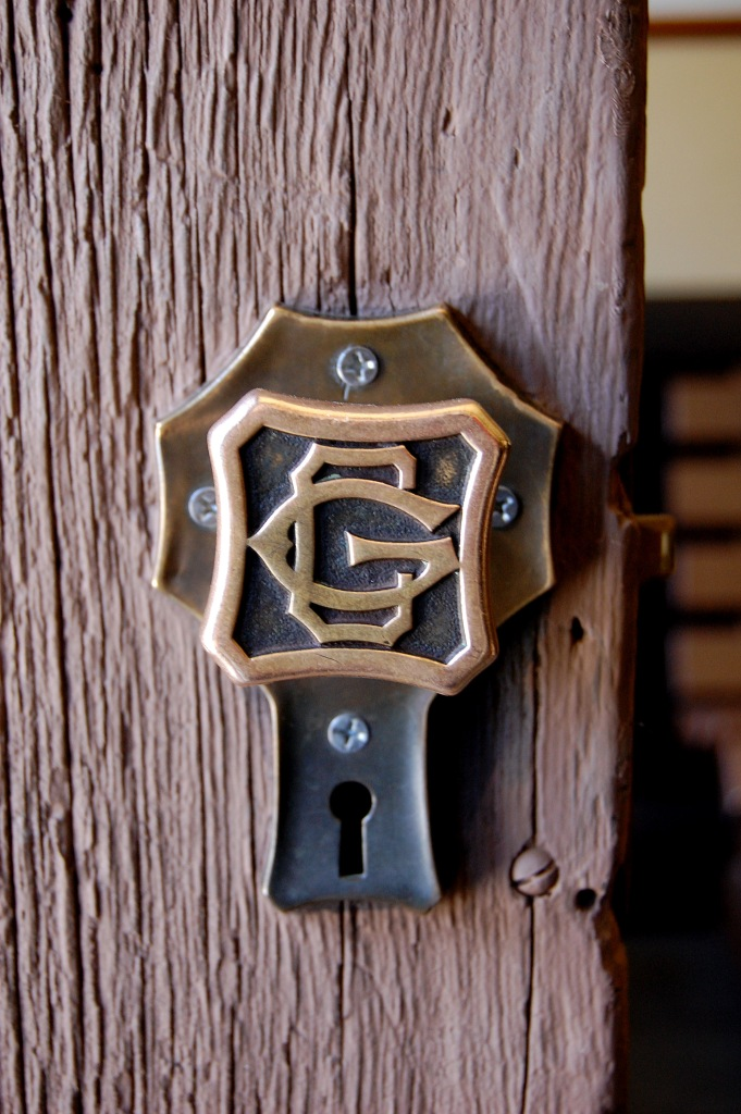 Door handle, Grand Canyon train depot. Photo by Daniel Wright [CC BY-NC-ND 2.0] via this flickr set