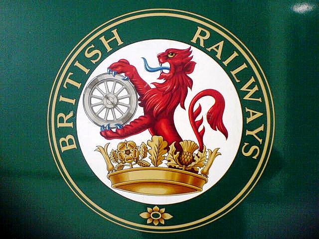 The British Railways lion and wheel. Photo by Chris Phillips [CC BT 2.] via this flickr page