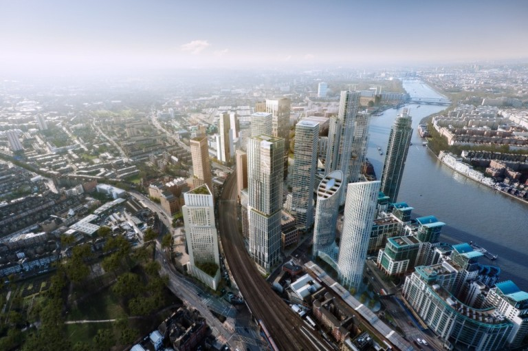 The future of Vauxhall/Nine Elms? Via this page at the Nine Elms Vauxhall Partnership