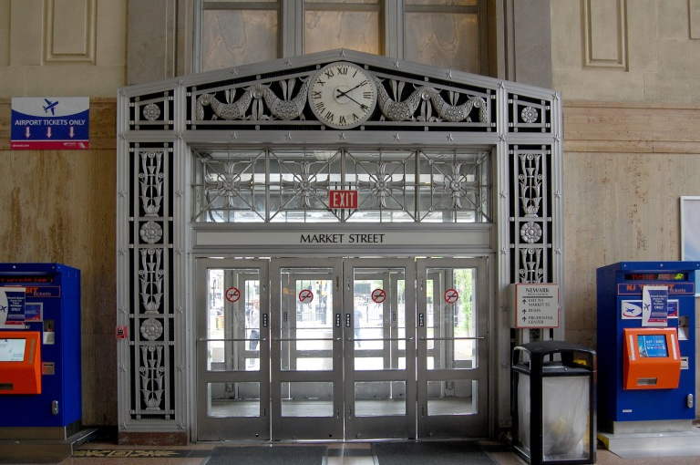 Entrance/exit vestibule at Penn Station. Photo by Daniel Wright [CC BY-NC-ND 2.0] via this flickr set