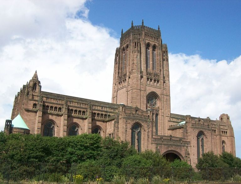Liverpool Anglican Cathedral in 2013. Photo by By Poliphilo (Own work) [CC0], via Wikimedia Commons