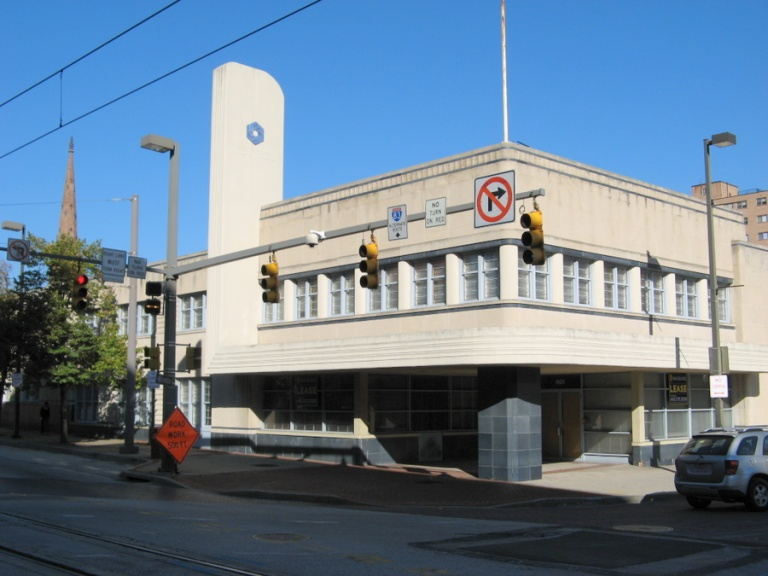 The ex-Greyhound terminal in Baltimore. Photo by Sean_Marshall [CC BY 2.0] via this flickr page
