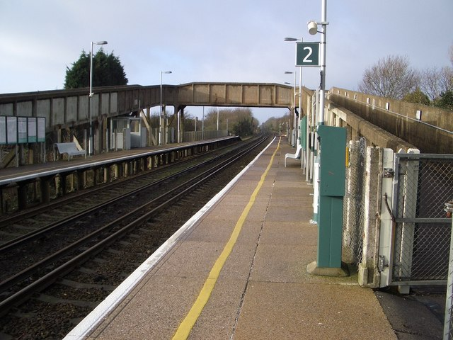Collington Railway Station, East Sussex. Photo by Nigel Stickells [CC BY-SA 2.0], via Wikimedia Commons