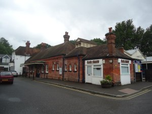 Claygate station, Surrey. © Copyright Stacey Harris and licensed for reuse under this Creative Commons Licence, via this geograph.org.uk page