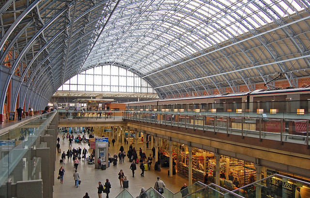 St Pancras International. Photo by Daniel Wright [CC BY-NC-ND 2.0] via this flickr set