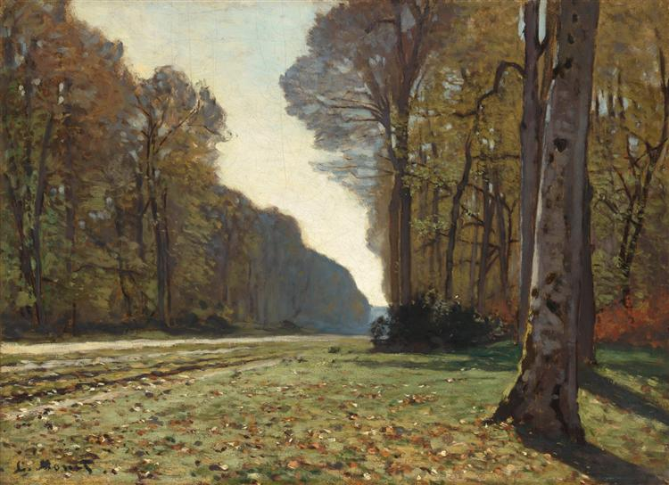 The Pave de Chailly (1865). Claud Monet. In the public domain, via this WikiArt page