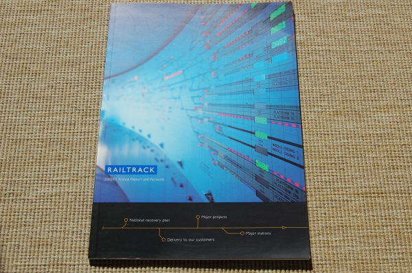Railtrack's 2000/01 Annual Report
