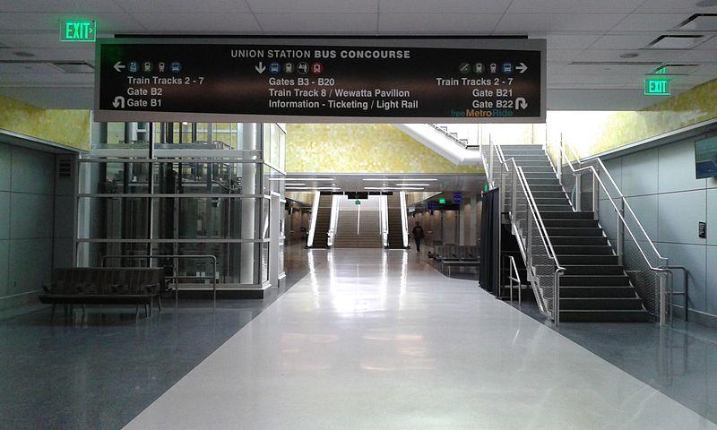 Mile High Marvel Union Station Denver Colorado Usa