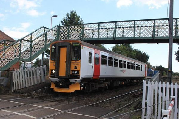 No, it's not in undercoat. This is Abellio Greater Anglia's visual (non)identity. Photo bBy Geof Sheppard (Own work) [CC BY-SA 3.0 or GFDL], via Wikimedia Commons