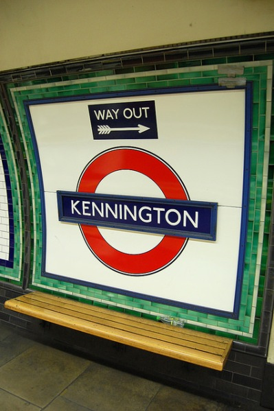 Roundel at Kennington station. Photo by Daniel Wright [CC BYNC-ND 2.0] via this flickr album