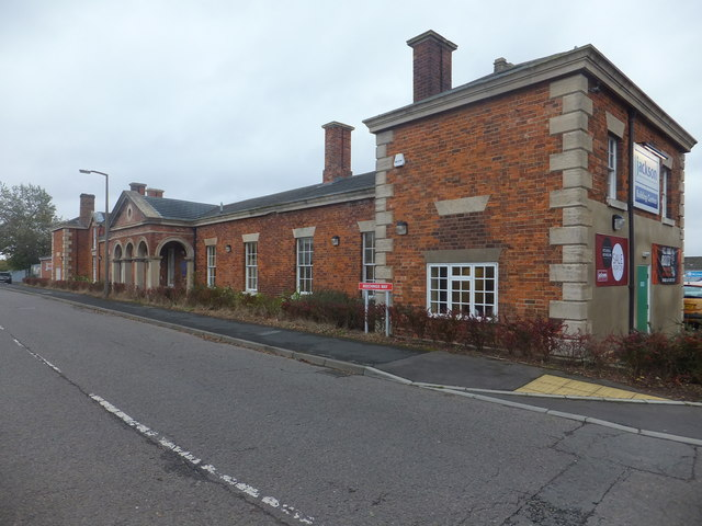 Beeching Way, Alford, Lincolnshire. The road replaced a railway, and left stranded Alford railway station. © Copyright Richard Hoare and licensed for reuse under this Creative Commons Licence. Via this geograph page