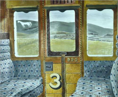 Train Landscape, 1940. Via WikiArt