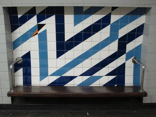 Stockwell mural. © Copyright Mike Quinn and licensed for reuse under this Creative Commons Licence. Via this geograph page