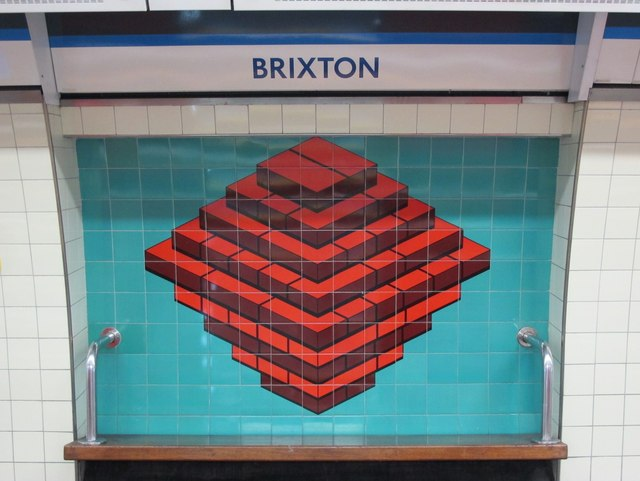 Brixton mural. © Copyright Mike Quinn and licensed for reuse under this Creative Commons Licence. Via this geograph page