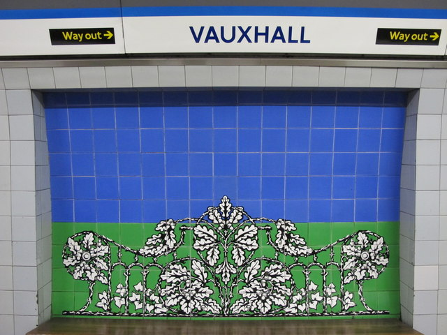 Vauxhall mural. © Copyright Mike Quinn and licensed for reuse under this Creative Commons Licence. Via this geograph page