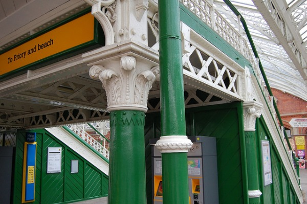 Tynemouth station. Photo by Daniel Wright [CC BY-NC-ND 2.0] via this flickr album