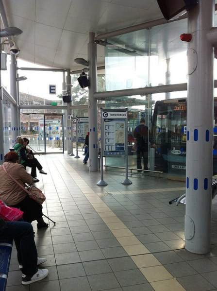 Horsham bus station interior. Photo by Daniel Wright [CC BY-NC-ND 2.0] via this flickr page