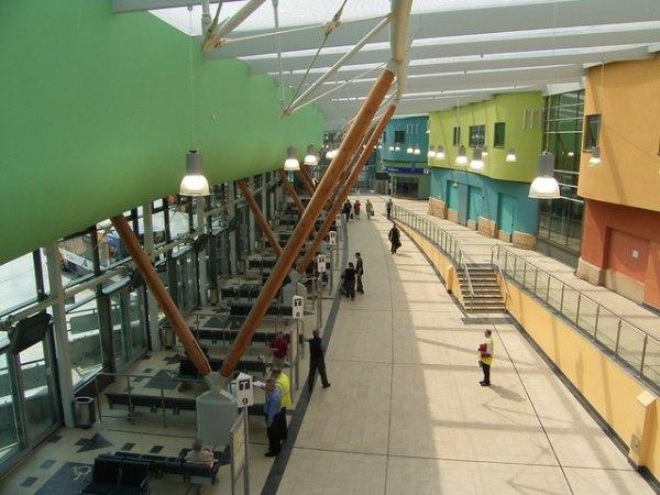 Barnsley Interchange. Photo by Stanley Walker [CC BY-SA 2.0], via Wikimedia Commons