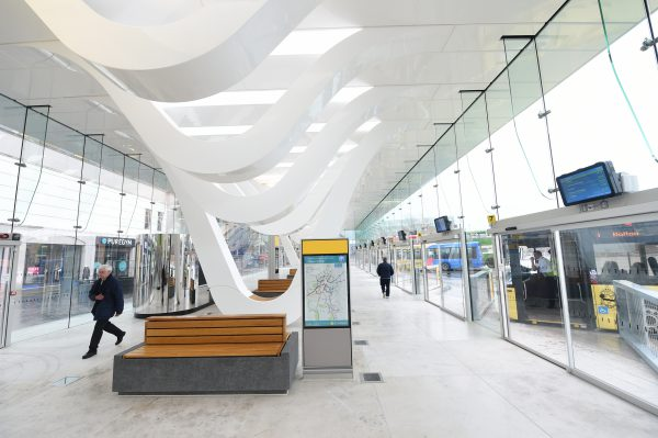 Blackburn bus station interior. © Blackburn with Darwen Council, used with permission