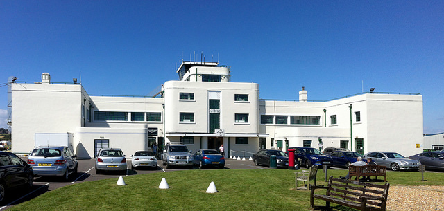 Shoreham Airport Terminal. Photo by Daniel Wright [CC BY-NC-ND 2.0] via this flickr album