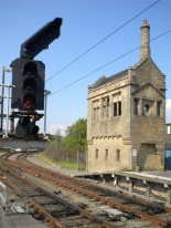 Furness Railway signal box, Carnforth (May 2012). Photo by Paul Wright