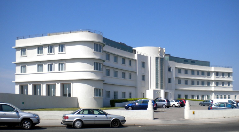 The Midland Hotel, Morecambe, in 2012. Photo by Paul Wright, used with permission