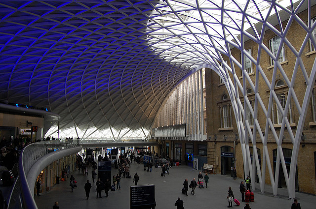 King's Cross Western Concourse - new (well, seven years old) and very, very good. Photo by Daniel Wright [CC BY-NC-ND 2.0] via this flickr album